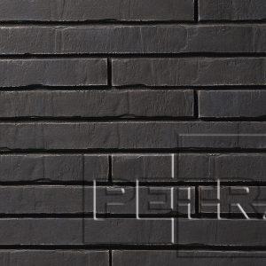 Камень из бетона - Клинкерный кирпич. Графит 16П6