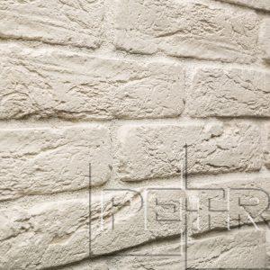 Камень из бетона - Кирпич Шумерский. Белый 01П0