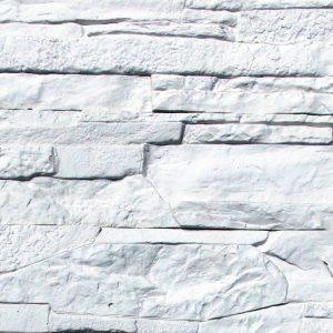 Декоративный камень - Сланец Рифейский. Белый 0200