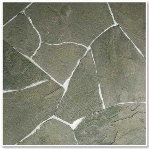 Натуральный камень - ПЕСЧАНИК (2-2,5см) серо-зеленый