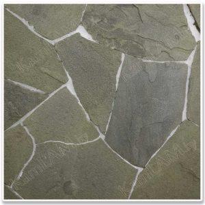 Натуральный камень - ПЕСЧАНИК (3см) серо-зеленый