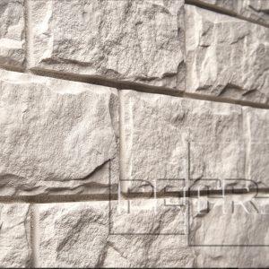 Камень из бетона - Афины. Белый