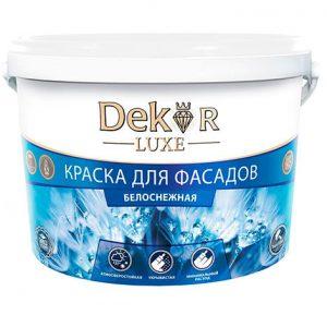 "Краска ""DEKOR"" для фасадов"