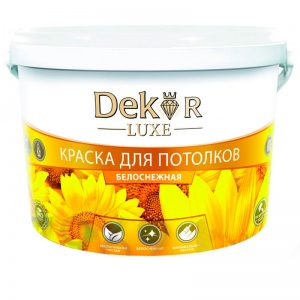 """Краска """"DEKOR"""" для потолков"""